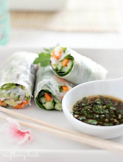 Recipes: Spring Roll Recipes: Step by Step: Vietnamese Spring Rolls