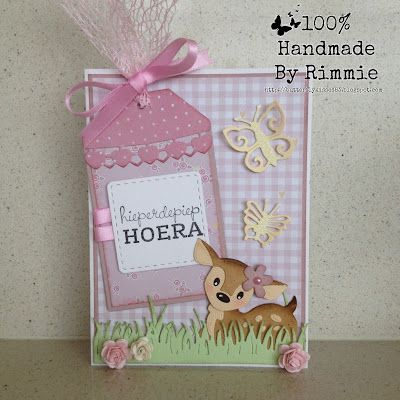100% Handmade By Rimmie: hieperdepiep HOERA!