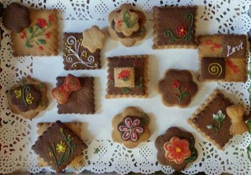 I miei biscotti al burro e cacao