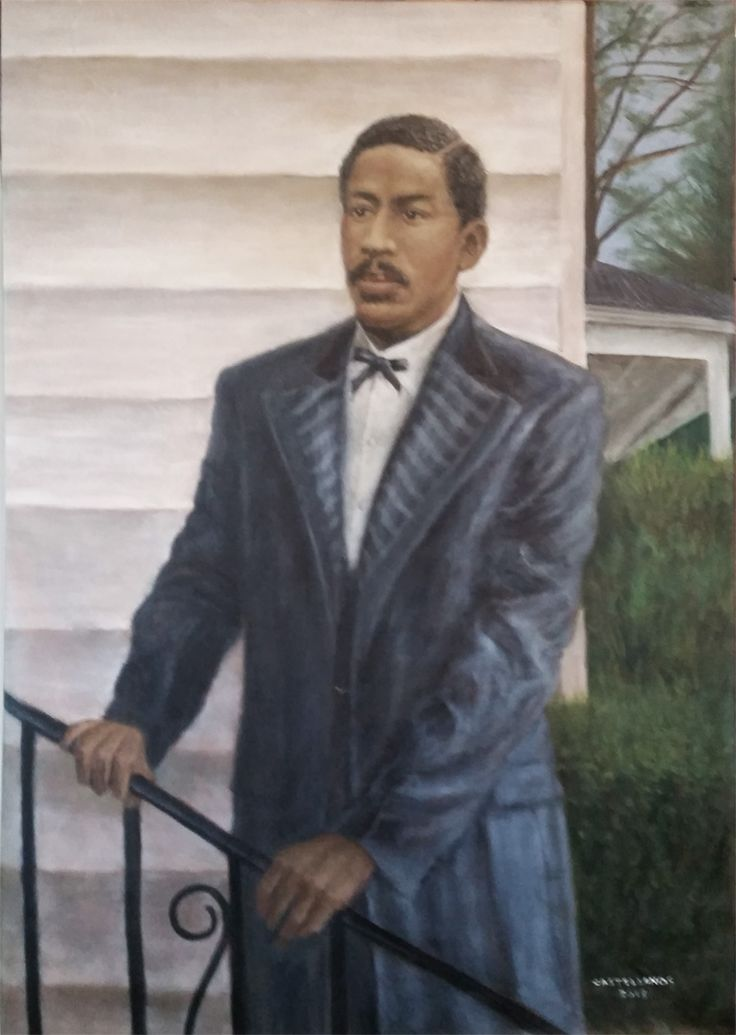 Portrait of Octavius Catto, a 19th century Philadelphia African-American who led campaigns for racial equality in voting, transportation, military service and baseball. He was murdered in his early thirties by white racists.