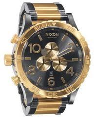 NIXON 51-30 Black Gold A083-595