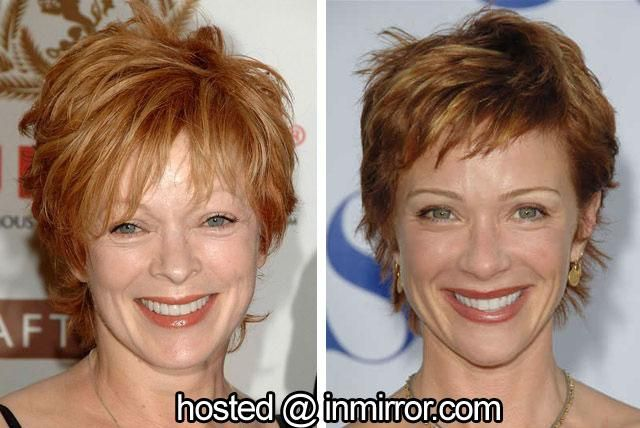 Frances Fisher and Lauren Holly