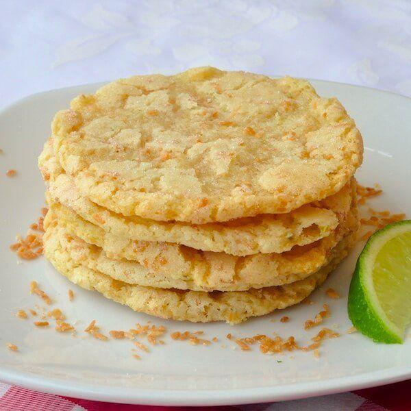 chewy coconut lime sugar cookies coconut cookies sugar cookies rock ...