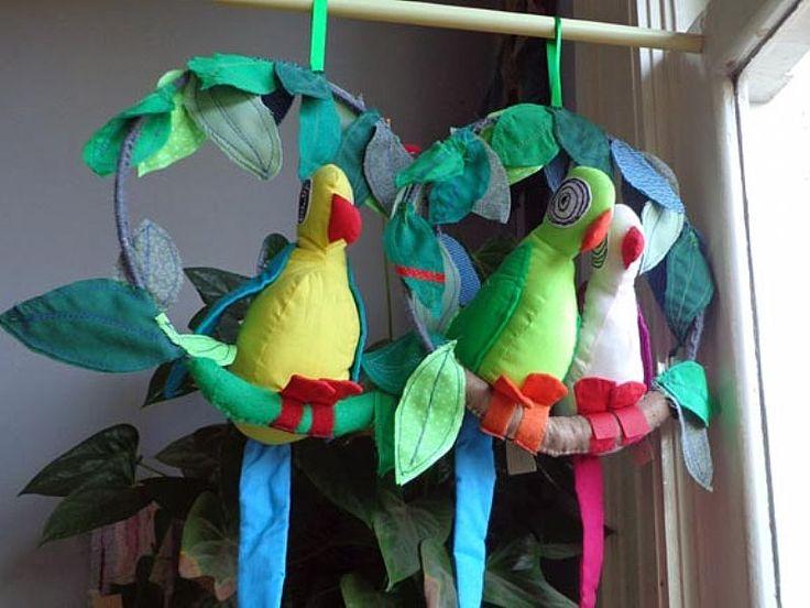 Papegaai hanger van Hanging Houses