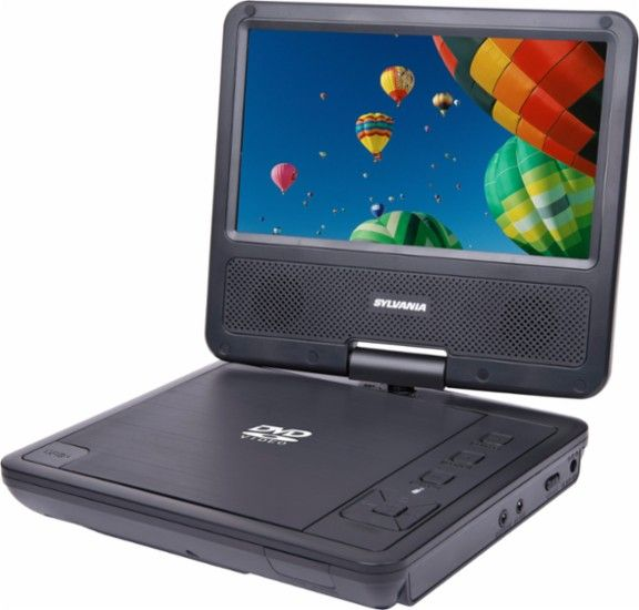 Save 50% On This Sylvania Portable DVD Player - EASY DEAL!