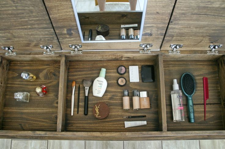 Free Makeup Vanity Woodworking Plans - WoodWorking ...