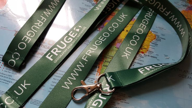 Beautifully crafted Frugeo lanyards (2016)
