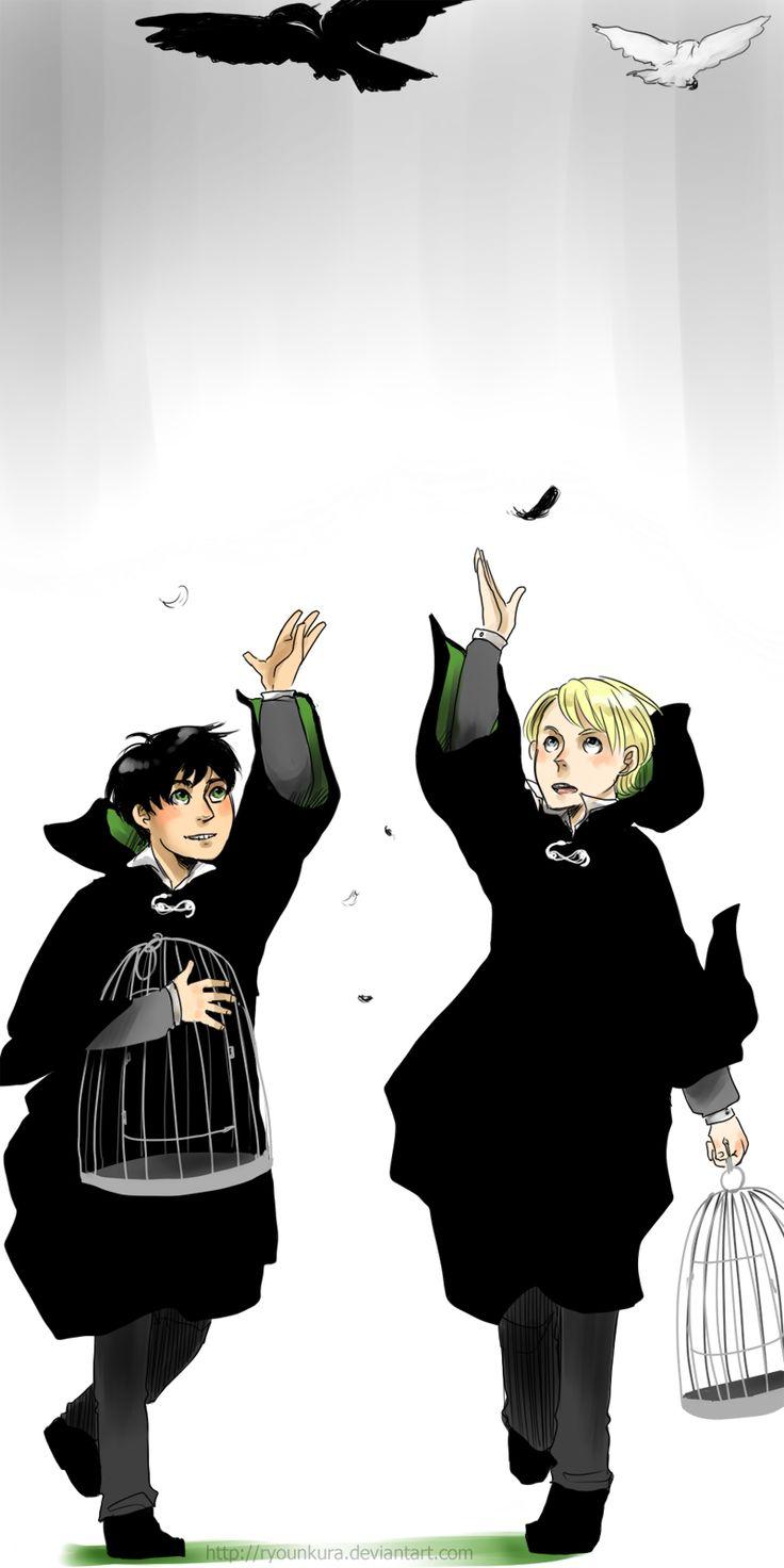 Harry Potter - Albus Severus Potter x Scorpius Malfoy - Scorbus