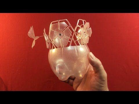 Como Fazer (Passo a Passo) Uma Margarida Com Garrafa Plástica - Reciclagem e Artesanato com Pet - YouTube