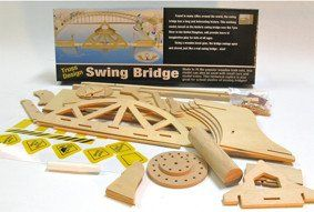 PATHFINDERS Swing Bridge Model Kitt#toys2learn#science#kit#swingbridge#construction#engineering#thames&cosmos#learning#teaching#home#school#kids#childrens#pyramids#australia#