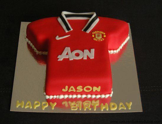 Manchester United Cake – Cakes n Bakes Dubai