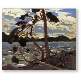 The West Wind by Tom Thomson (The Group of Seven)