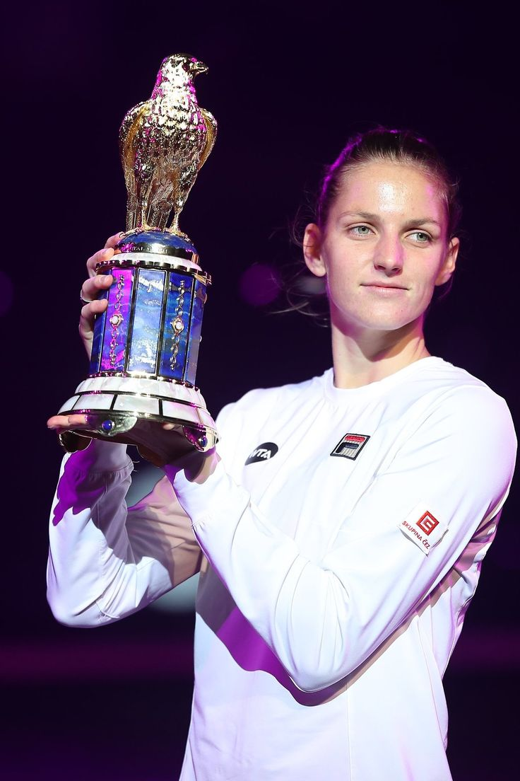 — top-tennis: Karolina Pliskova wins the Qatar Open...