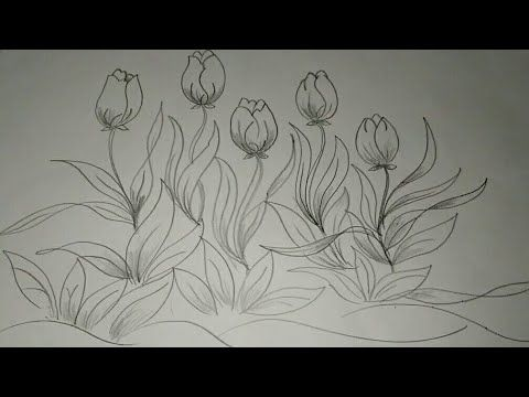 21 Gambar Batik Bunga Tulip Galeri Bunga Hd Bunga Bunga Sakura Cara Menggambar
