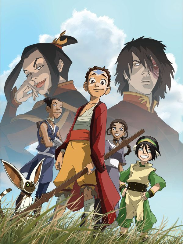Cover of second All Avatar:The Last Airbender issue of the now defunct Nick magazine. This was to promote Book 3 of the series