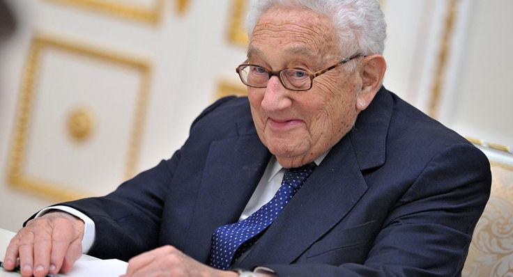 Kissinger to Advise Trump on Bridging Gaps With Russia.(December 27th 2016)