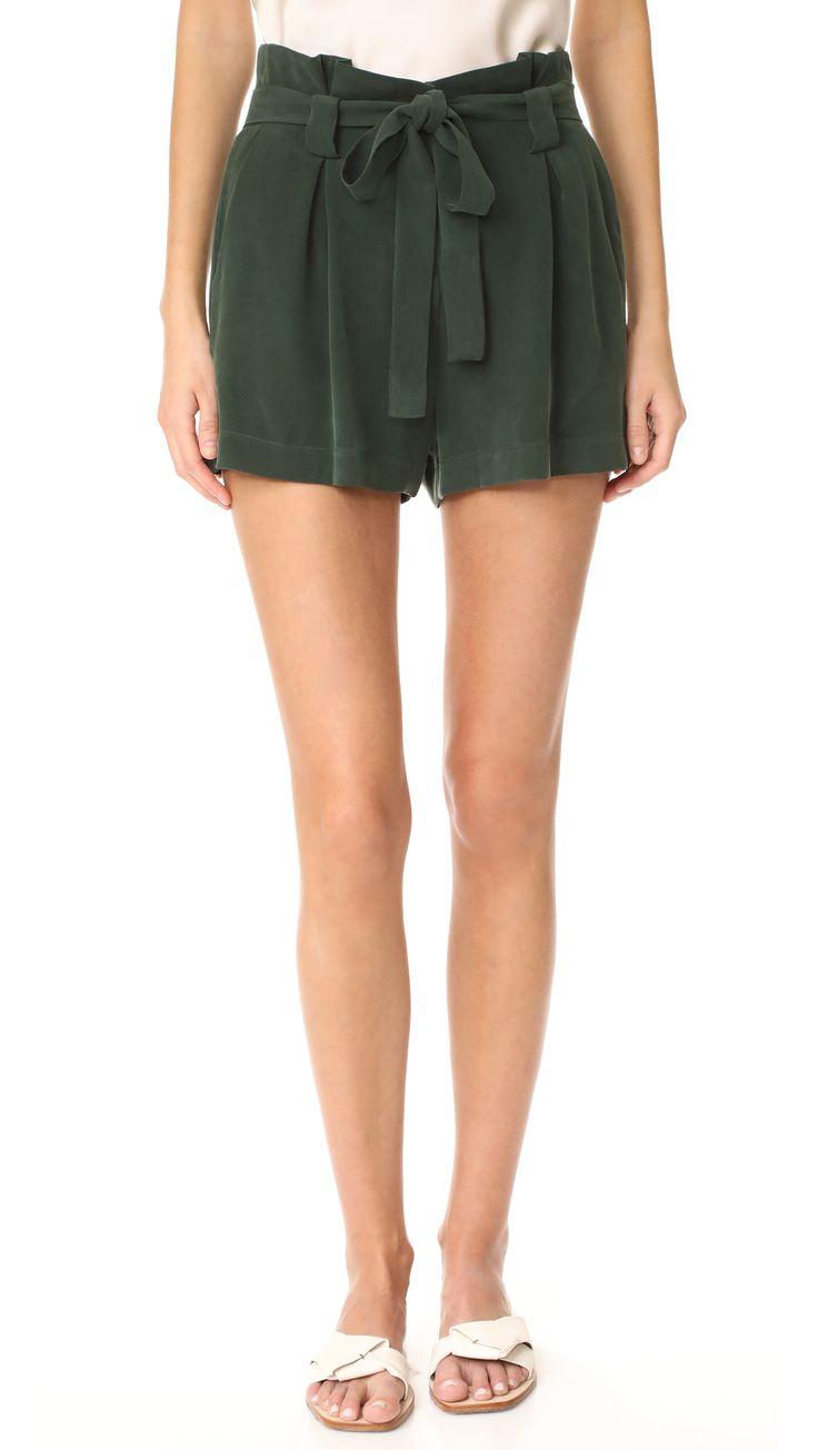 Alex Paper Bag Shorts