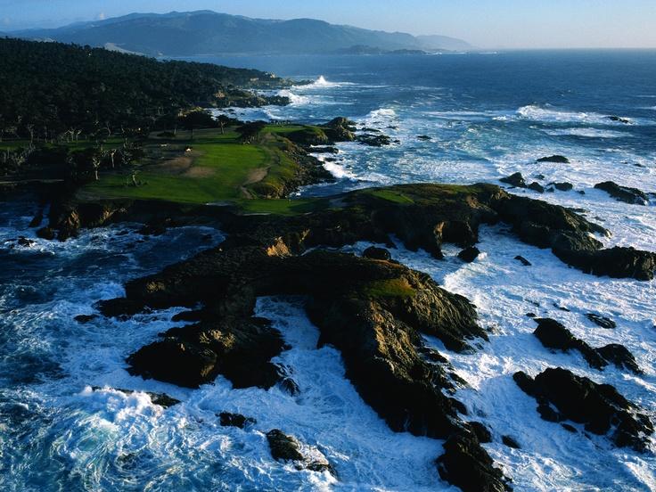 Golf Course, Monterey County, California
