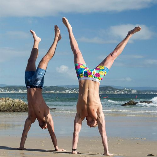 Cheeky handstands! #underwear #slystyle