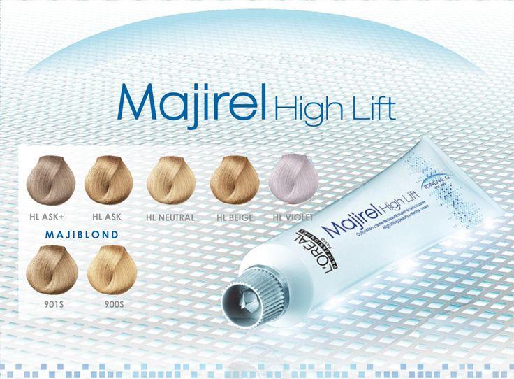 L'Oréal Professionnel Majirel High Lift 5 NEW Shades Premiering May 2015.