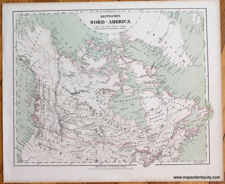 11 best antique maps and prints of canada images on pinterest britisches nord america antique maps and charts original vintage rare historical sciox Gallery