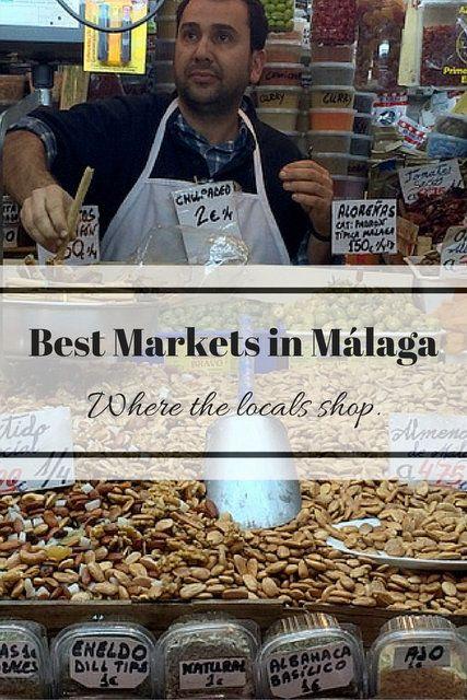 Best Local Markets in Malaga