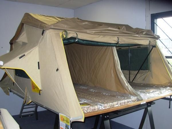 Roo Systems | Eezi Awn T-Top Xklusiv Roof Tent 2.2m | Roof ...