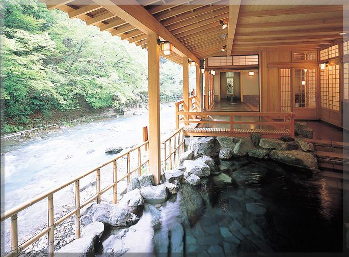 Shima YAMAGUCHIKAN.  Shima onsen, Gunma, Japan  |   群馬県 四万温泉 四万やまぐち館