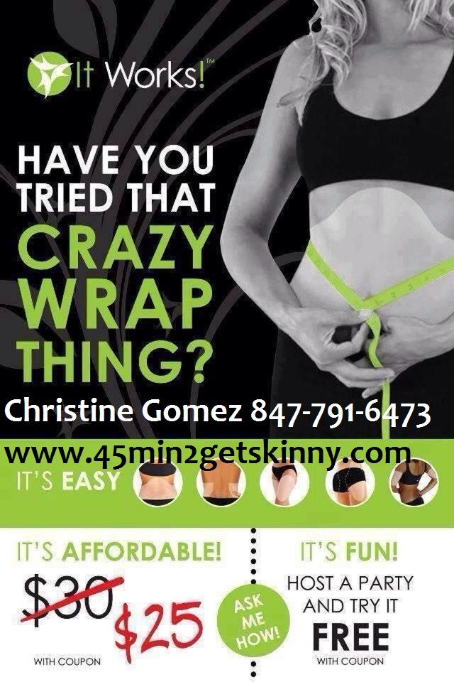 Contact me today to Tighten Tone and Firm! call/text 847-791-6473 www.45min2getskinny.com