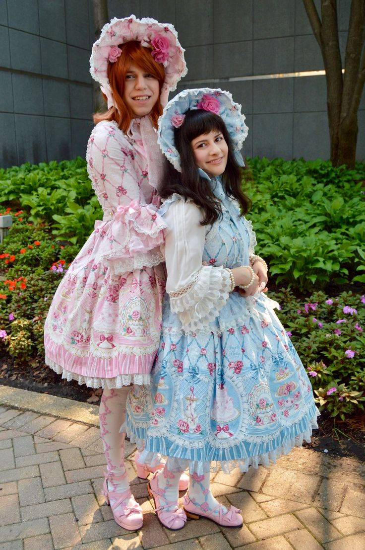 sylviasblr:   isabellaichi:   Twinning with my... - FYeah Angelic Pretty