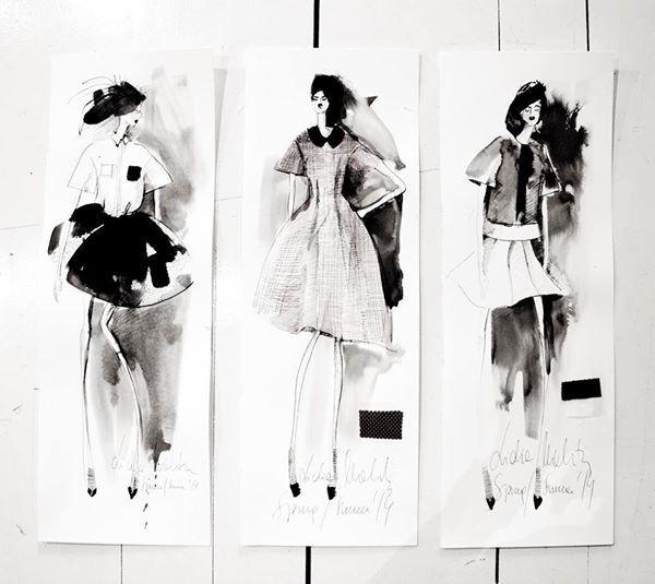 Widzieliście już ekskluzywną, limitowaną kolekcję Lidia Kalita dla BoutiqueLaMode.com? Oto jej piękne szkice, wykonane przez samą projektantkę♥ Tylko u nas!  #nacomaszochote http://boutiquelamode.com