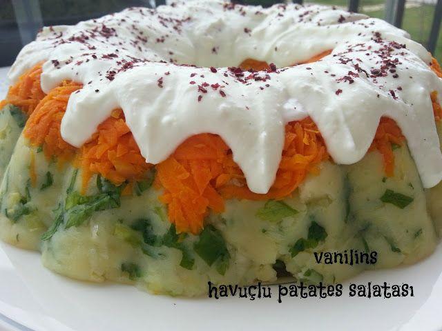 Vanilins: Havuçlu patates salatası(kalıpta)