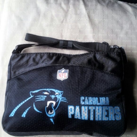 Officially Licensed NFL Carolina Panthers purse Made and feels like a jersey NFL Bags