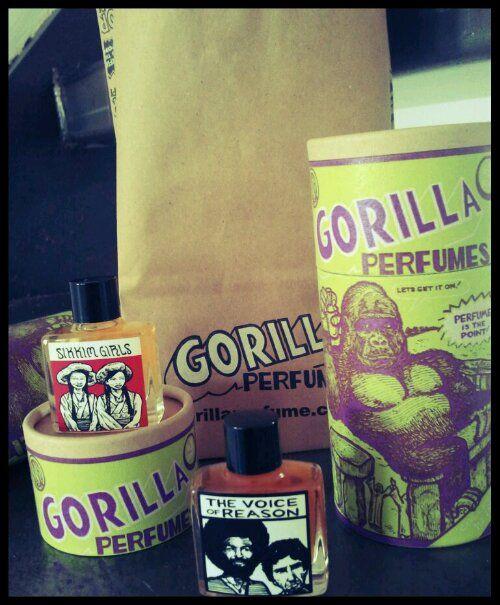 De geur van Gorilla