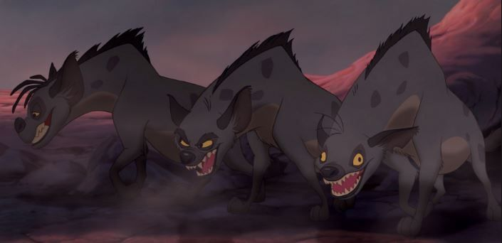 Tras el estreno de El Rey León, Disney fue demandado por un biólogo que estudiaba las hienas por retratarlas como villanas.