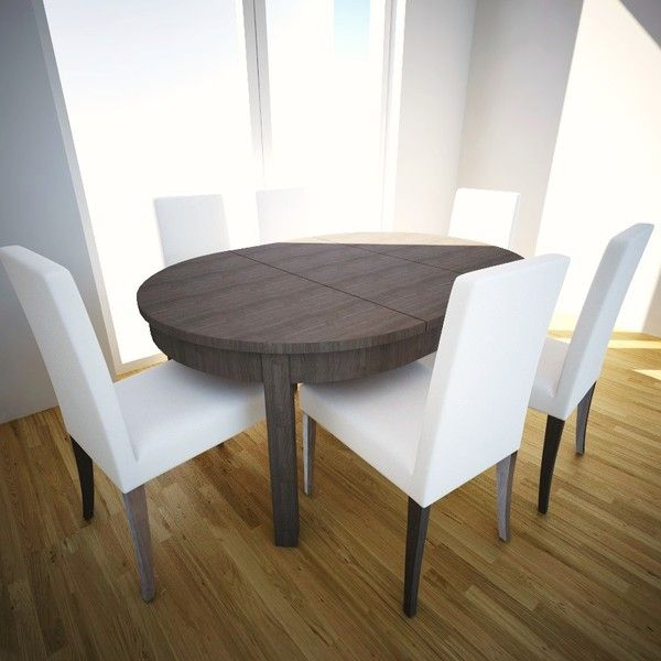 Ikea bjursta round oval i could keep our existing chairs and just get a table like this - Ikea round extendable table ...