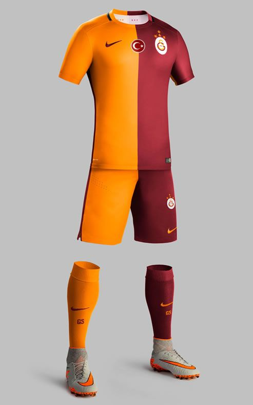 Galatasaray 2015-16 Nike Home Kits