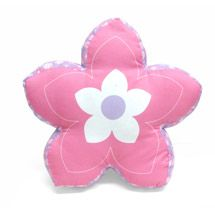 Walmart: Mainstays Kids' Decorative Pillow, Di-Cut Flower