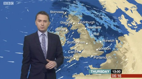 BBC weather: Matt Taylor finally has GOOD news for viewers as he delivers morning forecast - http://buzznews.co.uk/bbc-weather-matt-taylor-finally-has-good-news-for-viewers-as-he-delivers-morning-forecast -