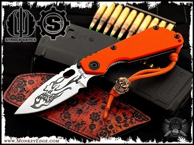 A collaboration between Strider Knives and Starlingear.  If you're in the mood for some high-quality cast jewelry in various metals, Starlingear rocks the house.