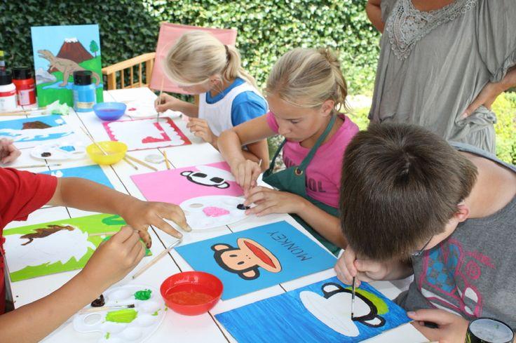 www.leukverjaardagsfeestje.nl Ben jij de nieuwe Rembrandt? Maak je eigen schilderij tijdens je kinderfeestje