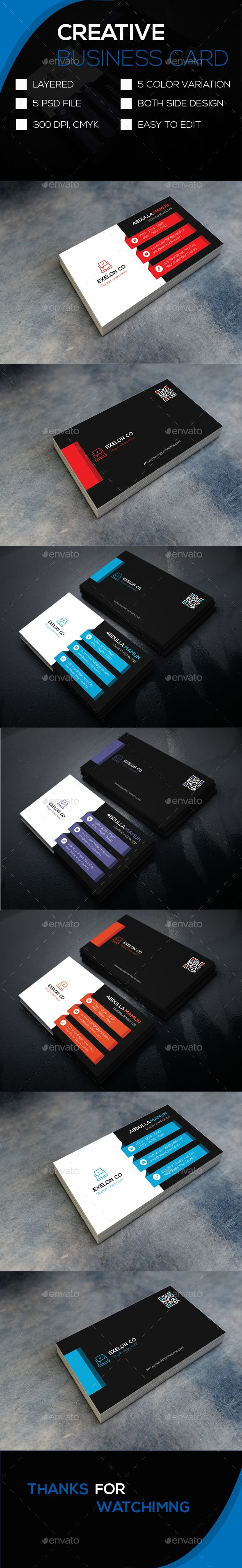 The 505 best business card images on pinterest business card buy creative business card by abdullamamun on graphicriver file information print ready fully editable print size card size with bleed 300 dpi reheart Image collections