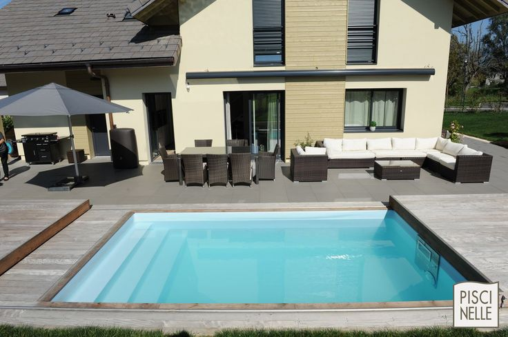 les 46 meilleures images du tableau terrasse mobile de piscine sur pinterest piscines. Black Bedroom Furniture Sets. Home Design Ideas