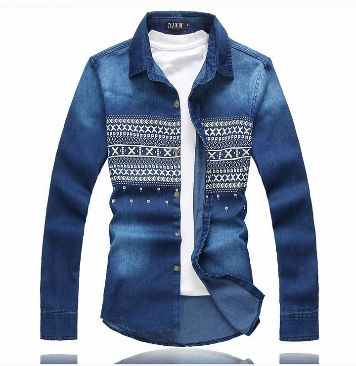 Cheap shirt cardigan, Buy Quality shirt classic directly from China shirts coolmax Suppliers:  New Arrival Men Denim Shirts Casual Long Sleeve Mens Shirt Brand Striped Shirt    Men Plus Jeans Cotton shirts camisa m