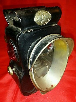 "Salsbury's Antique ""Invincible"" Oil burning Bicycle lamp ..."