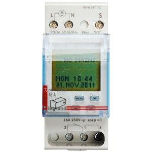 Horloge digitale Legrand AstroRex D21 Alpha 230V 50/60Hz MONSIEUR-OUTILLAGES.COM