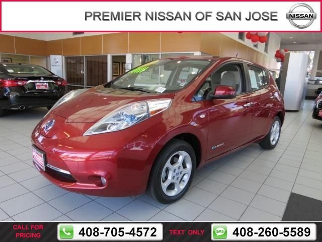 2011 Nissan LEAF SV Call for Price  miles 408-705-4572 Transmission: Automatic  #Nissan #LEAF #used #cars #PremierNissanofSanJose #SanJose #CA #tapcars