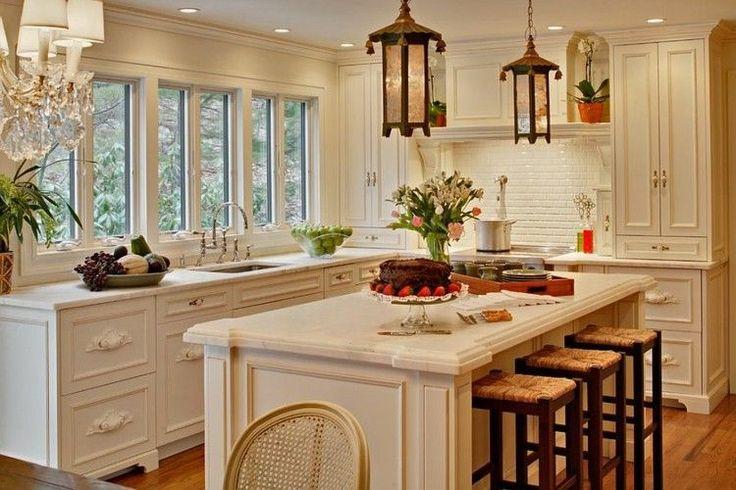 Кухня в стиле шебби-шик: 80 фото потрясающе стильных интерьеров