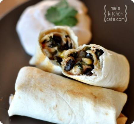Baked Southwest Egg Rolls. These look like burritos to me.