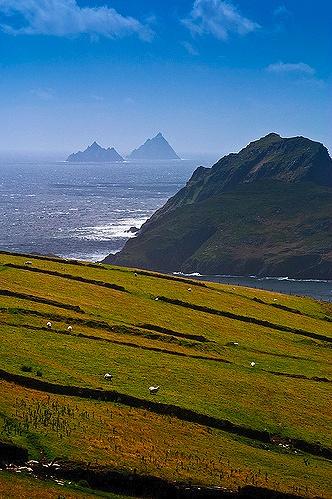 Skellig Islands, Kerry, Ireland.